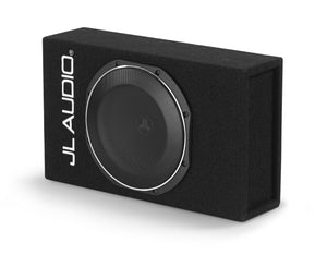 JL AUDIO ACS110LG-TW1 Single 10TW1 PowerWedge+â  with DCDâ  Amplifier, Sealed, 0.25 Ohms