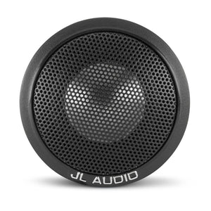 JL AUDIO C1-100CT 1-inch (25mm) Aluminum Dome Tweeters with inline high-pass filter, sold in pairs