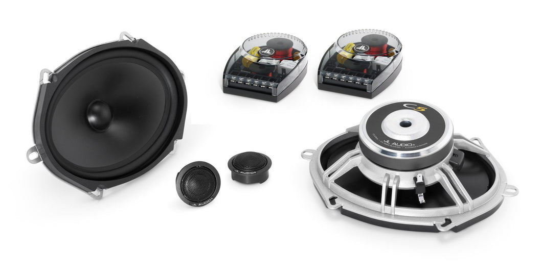 JL Audio C5-570 5 x 7 / 6 x 8-inch (125 x 180 mm) 2-Way Component Speaker System
