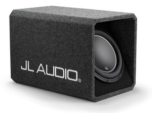 JL AUDIO HO112-W6v3 Single 12W6v3 H.O. Wedge, Ported, 2 Ohms