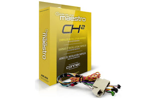 Maestro  PLUG & PLAY T-HARNESS FOR CHRYSLER, FIAT, DODGE, JEEP, RAM VEHICLES