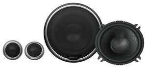 "KENWOOD KFCP510PS 5.25"" COMPONENT SPEAKERS & TWEETERS"