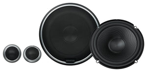 "KENWOOD KFCP710PS 6.5"" COMPONENT SPEAKERS & TWEETERS"
