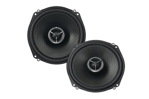 "KENWOOD eXcelon KFCX183C OVERSIZED 7"" 2-WAY SPEAKERS  W/ MULTI USE & 6X9 ADAPTOR BRACKET"