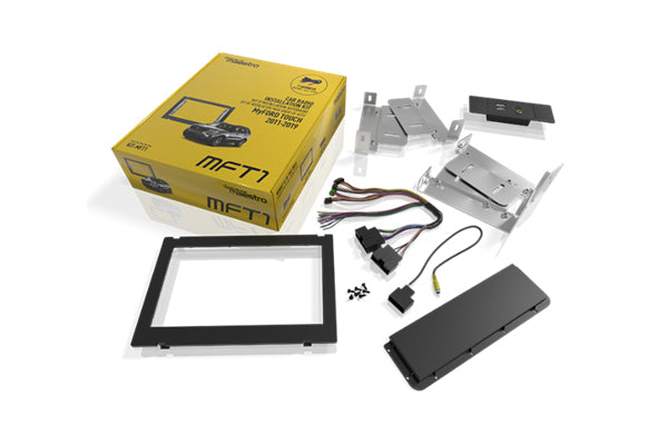 Maestro  MFT1 DASH KIT AND T-HARNESS FOR FORD VEHICLES WITH 8