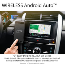 "Load image into Gallery viewer, KENWOOD eXcelon DMX907S 7"" WVGA/CAP TCH/WIRELESS A-AUTO & CARPLAY/WIRED IPHONE & ANDROID MIRRORING/4 CAM"