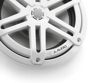 Load image into Gallery viewer, JL AUDIO M3 7.7-inch Marine Coaxial Speakers (70 W, 4 Ohms) - Gloss White Sport Grille