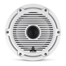 Load image into Gallery viewer, JL AUDIO M6 6.5-inch Marine Coaxial Speakers (75 W, 4 Ohms) - Gloss White Trim Ring, Gloss White Classic Grille