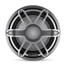 Load image into Gallery viewer, JL AUDIO M6 8-inch Marine Subwoofer Driver for Infinite-Baffle Use (200 W, 4 Ohms) - Gunmetal Trim Ring, Titanium Sport Grille