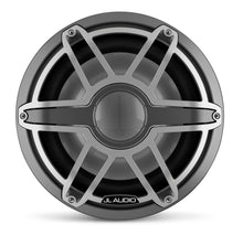 Load image into Gallery viewer, JL AUDIO M7 12-inch Marine Subwoofer for Infinite-Baffle Use (600 W, 4 Ohms) - Gunmetal Trim Ring, Titanium Sport Grille