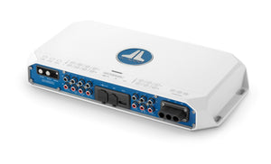 JL AUDIO MV1000/5i 5-Channel Class D Marine System Amplifier with Integrated DSP, 100 W x 4 @ 2 Ohms + 600 W x 1 @ 2 Ohms - 14.4V