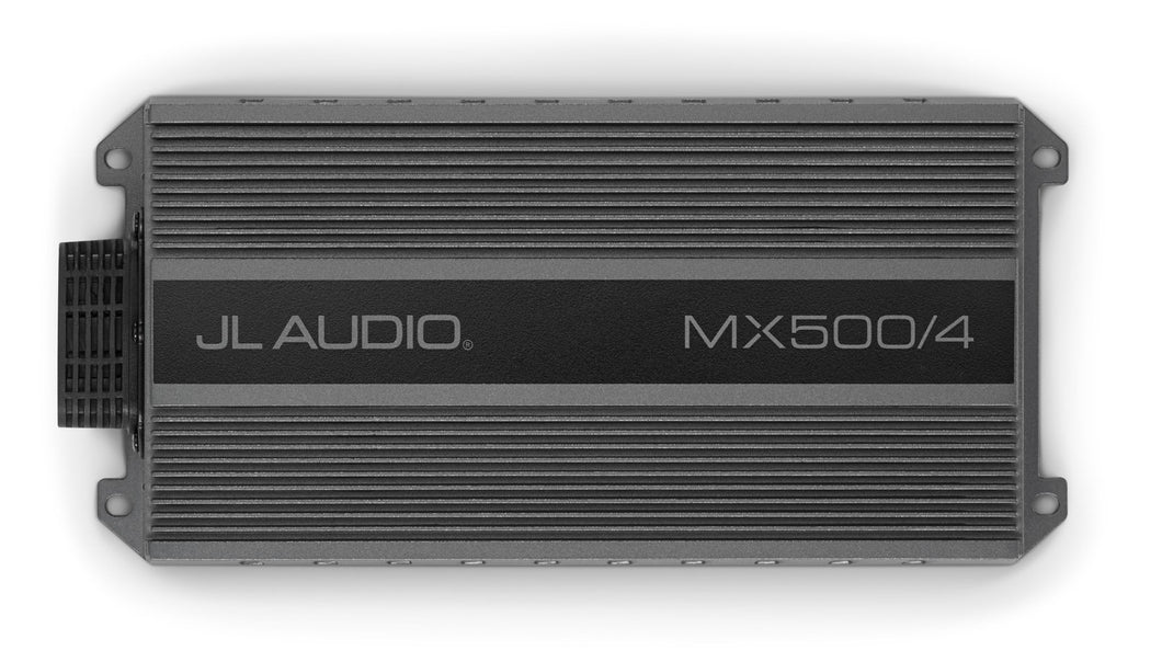 JL Audio MX500/4 4 Ch. Class D Full-Range Amplifier, 500 W