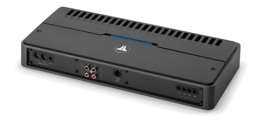 JL Audio RD1000/1 Monoblock Class D Subwoofer Amplifier, 1000 W