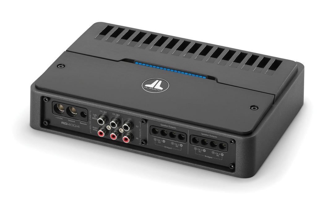 JL Audio RD400/4 4 Ch. Class D Full-Range Amplifier, 400 W