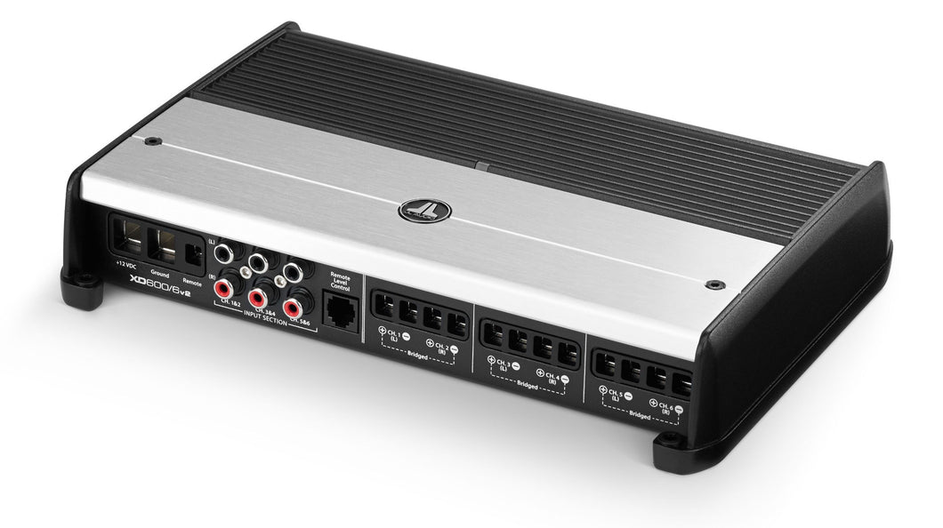 JL AUDIO XD600/6v2 6 Ch. Class D Full-Range Amplifier, 600 W