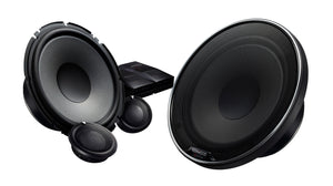 "KENWOOD eXcelon XR1800P OVERSIZED 7"" COMPONENT SPEAKERS W/ MULTI USE & 6X9 ADAPTOR BRACKET"