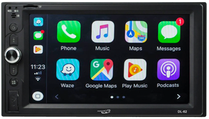 Chameleon DL-62 6.2-Inch Mech-Less Stereo In-Dash W/ CarPlay & Android Auto