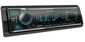 Kenwood KMM-X704 Digital Media Receiver with Bluetooth & HD Radio