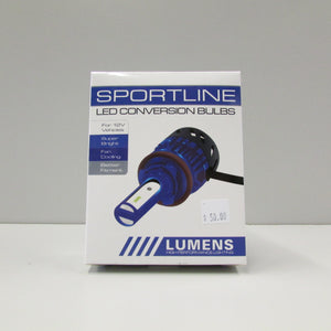 9012 SPORTLINE WHITE LED Bulb & Driver (each) by LUMENS HPL