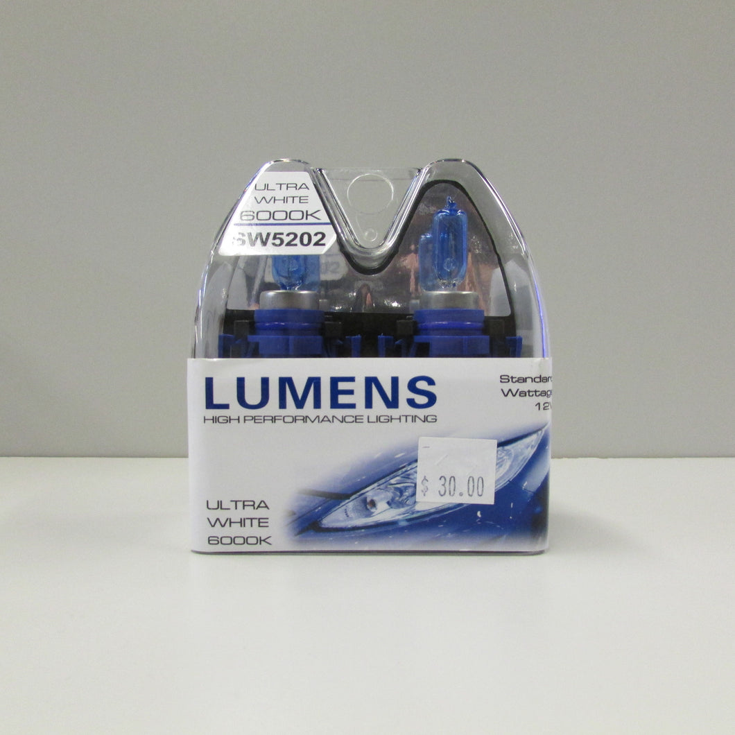 5202 / H16 12V 24W - Ultra White Halogen by LUMENS HPL