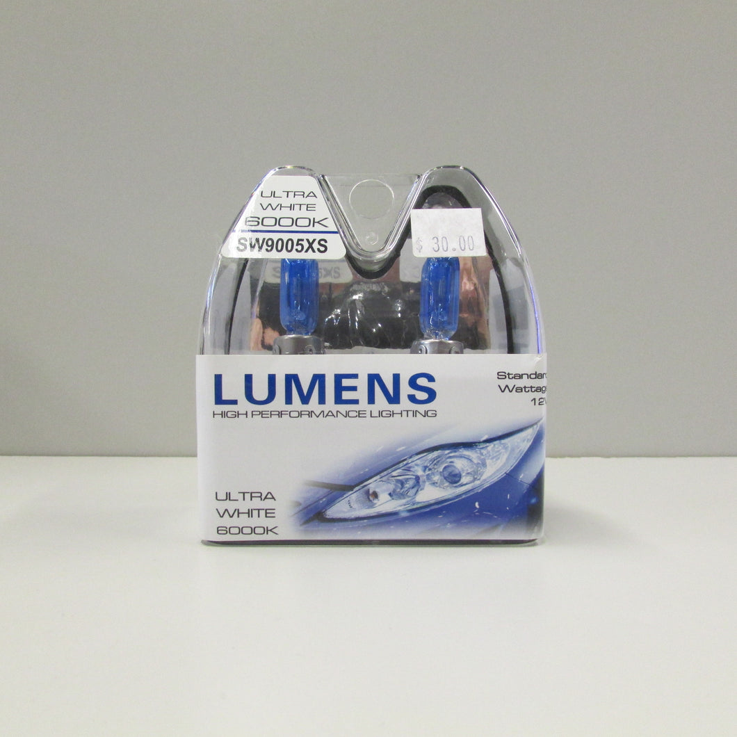 9005XS 12V 65W - Ultra White Halogen by LUMENS HPL