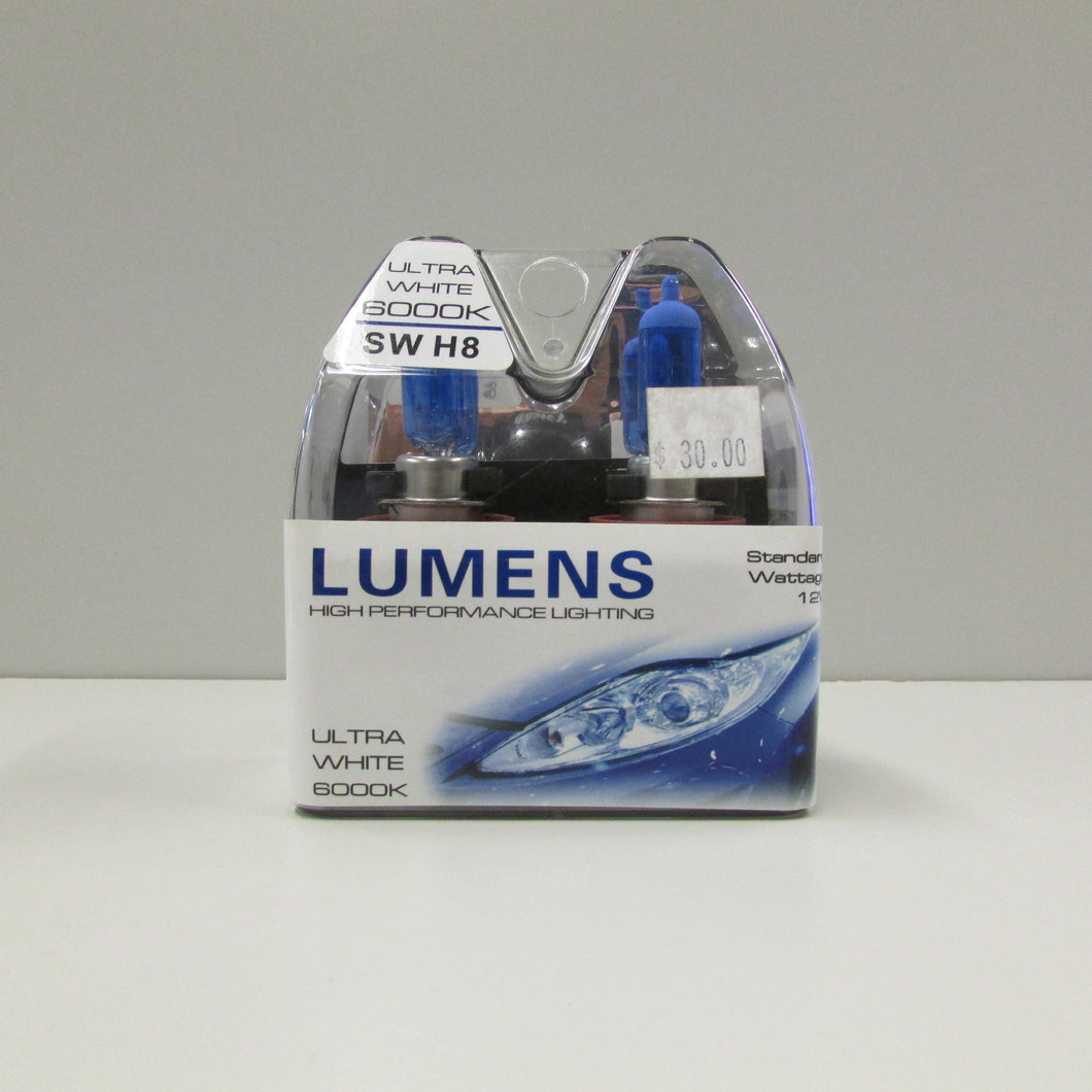 H8 12V 35W - Ultra White Halogen by LUMENS HPL