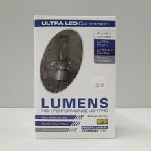 Load image into Gallery viewer, 9005 / H10 ULTRA LED WHITE Bulb & Driver (each) by LUMENS HPL