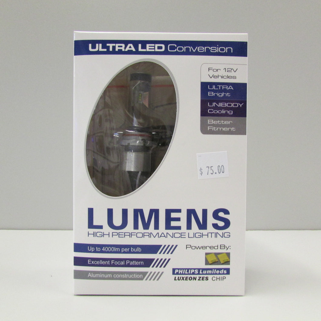 9006 ULTRA LED WHITE Bulb & Driver (each) by LUMENS HPL