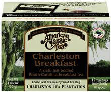 Charleston Breakfast Tea - Charleston Tea Plantation