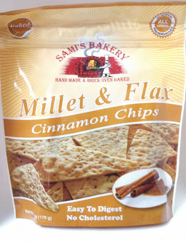 Millet & Flax Cinnamon Chips - Sami's Bakery