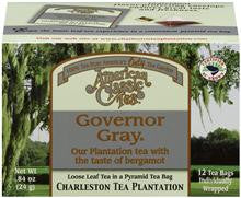 Governor Gray Tea - Charleston Tea Plantation