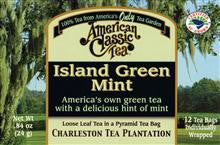 Island Green Mint Tea - Charleston Tea Plantation