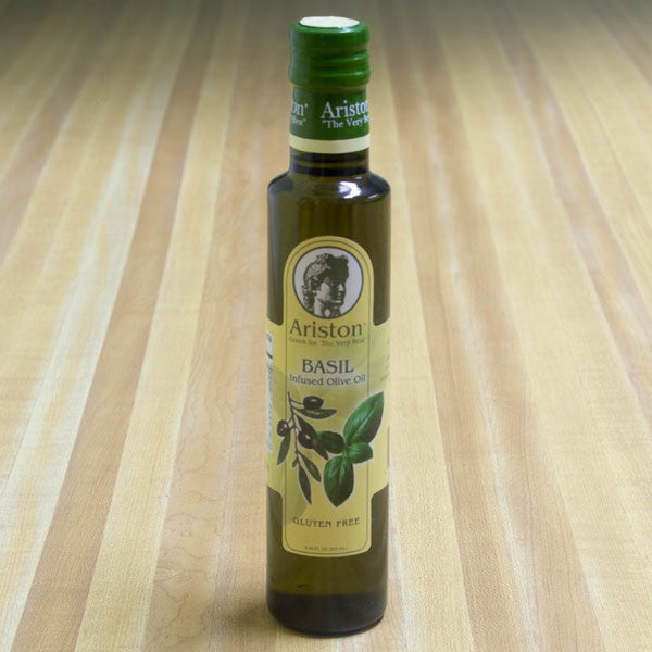 Basil Infused Olive Oil by Ariston