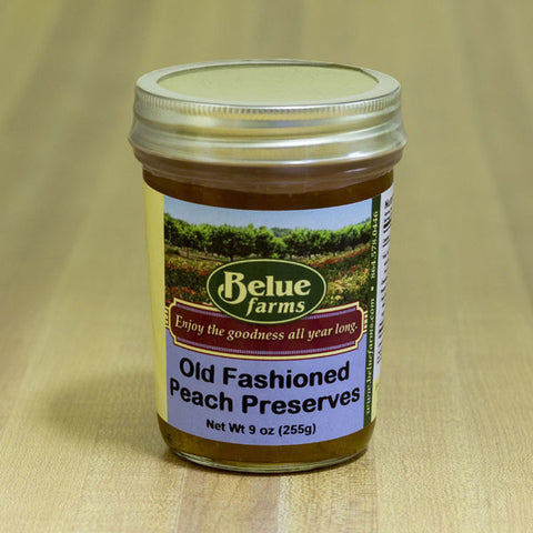 Belue Farms Old Fashioned Peach Preserves