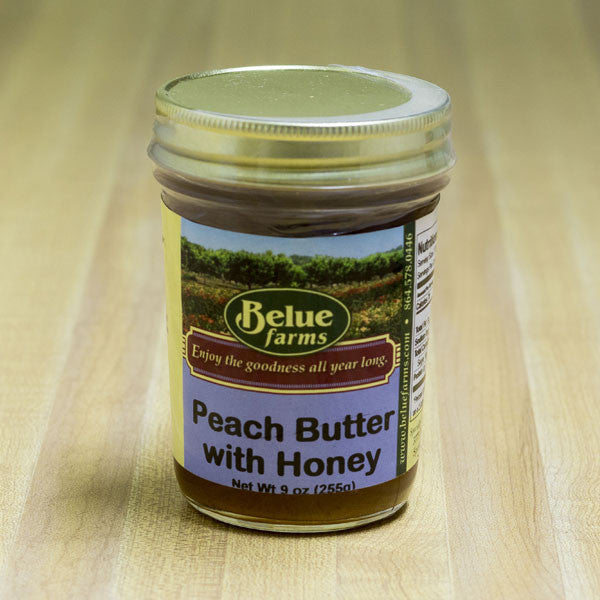 Belue Farms Peach Butter with Honey