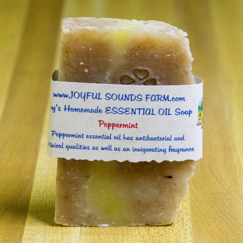Homemade Soap from Joyful Sounds Farm  - Peppermint