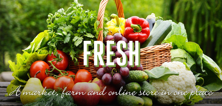Wholesome: Local and organic produce, meats and dairy