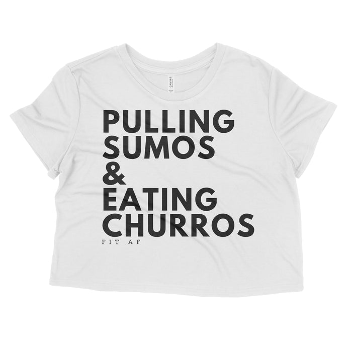 Sumos & Churros Crop Top