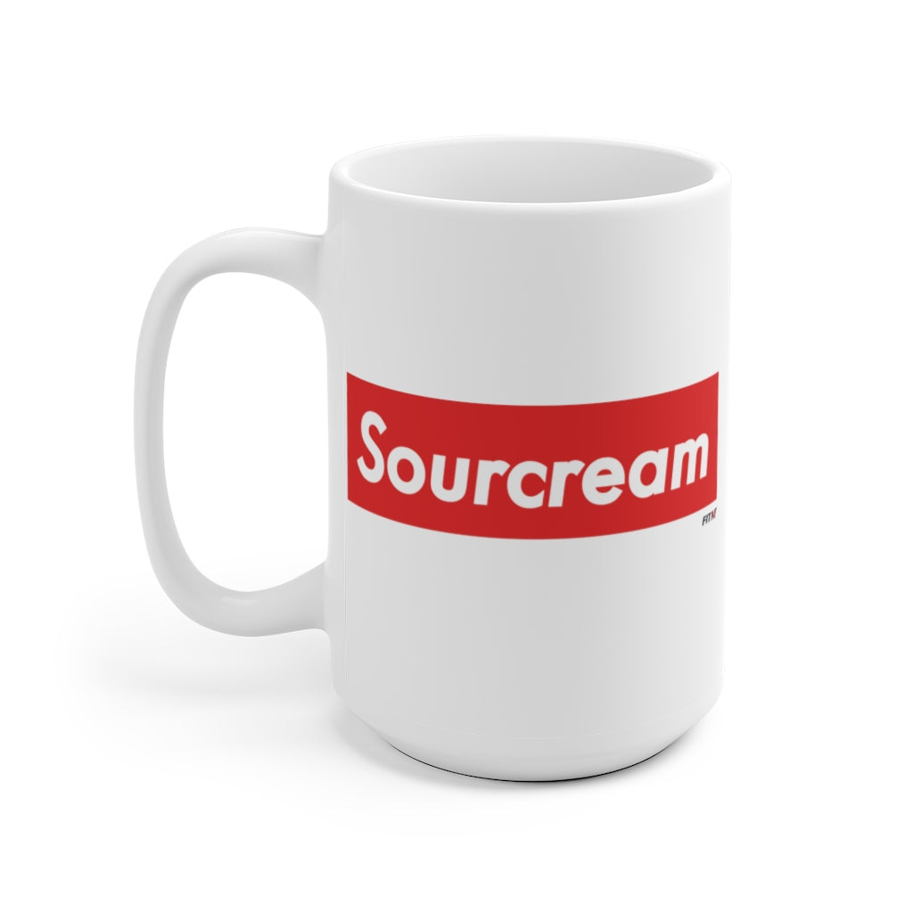 Sourcream Coffee Mug