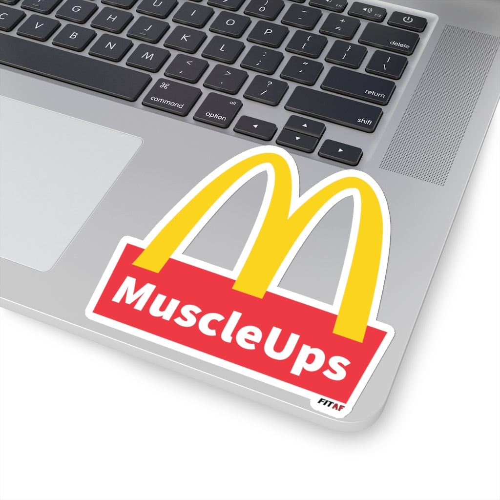 Muscle Ups Sticker