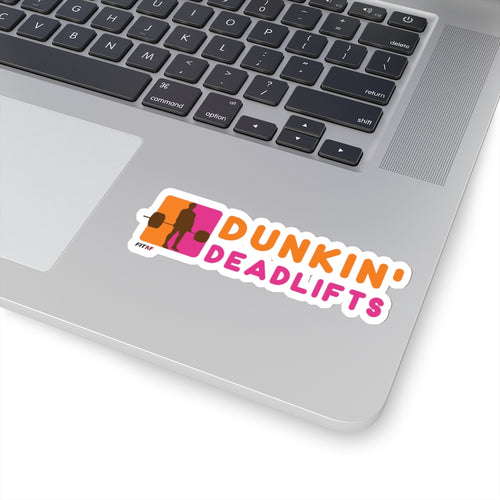 Dunkin' Deadlifts Sticker
