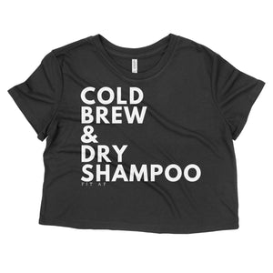 Cold Brew & Dry Shampoo Crop Top