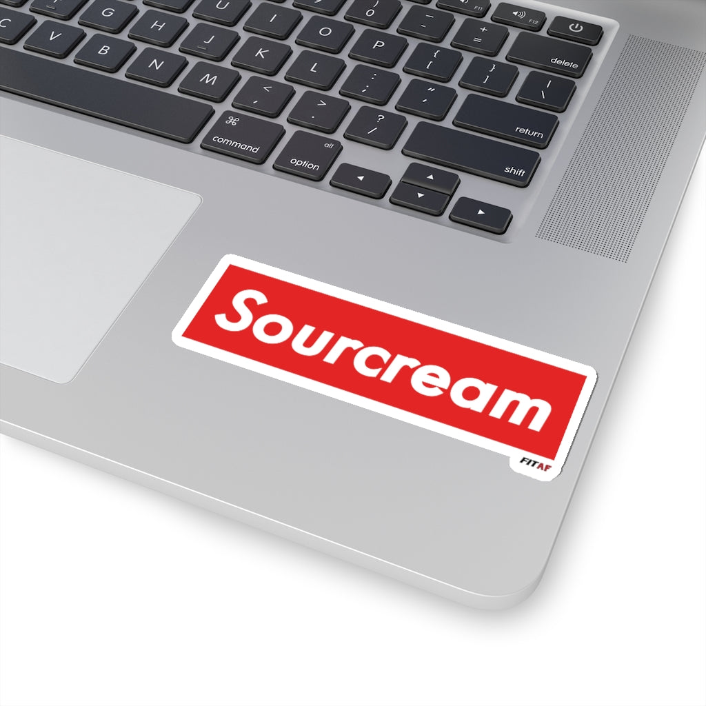 Sourcream Sticker