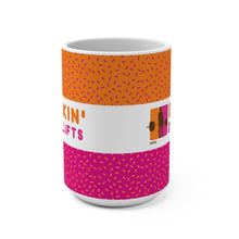 Load image into Gallery viewer, Dunkin' Deadlifts Jumbo Coffee Mug