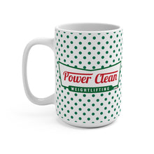 Load image into Gallery viewer, Power Clean Jumbo Coffee Mug