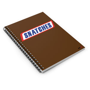 Snatches Spiral Notebook