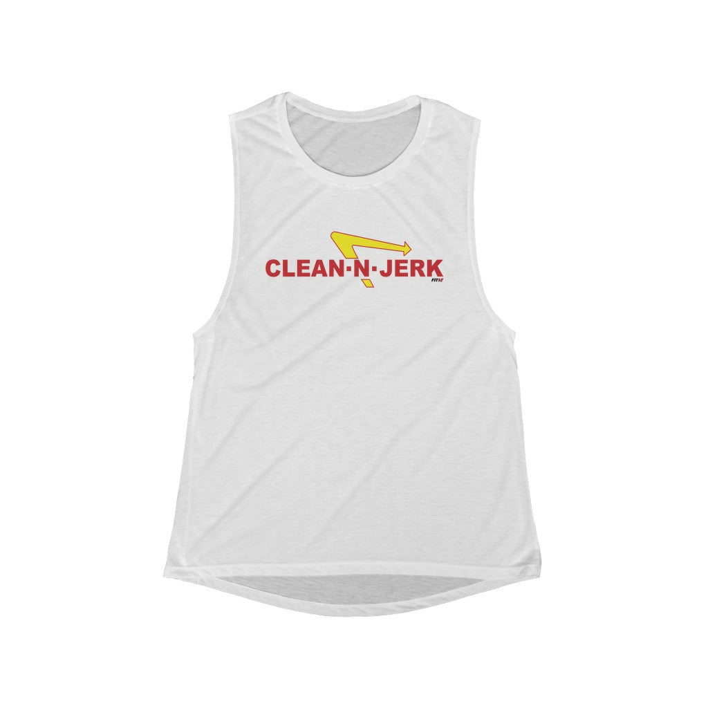 Clean-N-Jerk Muscle Tank
