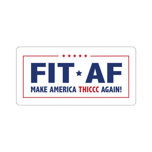 Make America Thiccc Again Sticker