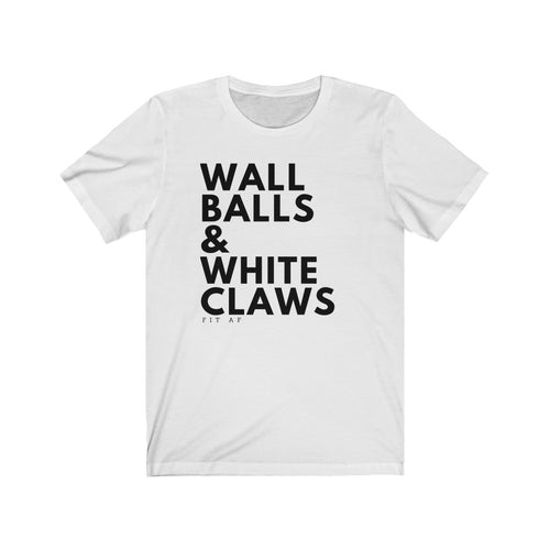 Wall Balls & White Claws Men's Tee