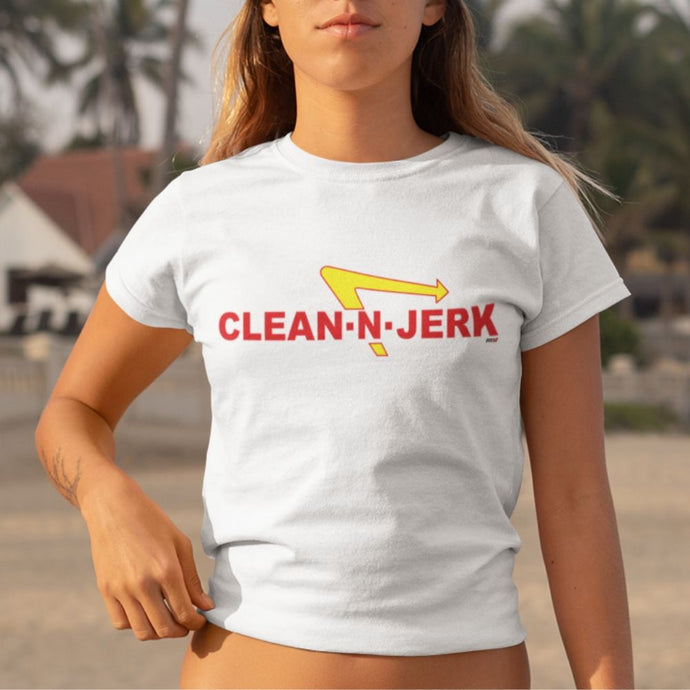 Clean-N-Jerk Women's Crop Top